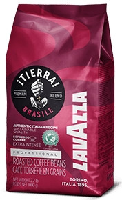 Кофе LAVAZZA TIERRA BRAZIL в зернах 1 кг /Лавацца Тиерра Бразил/