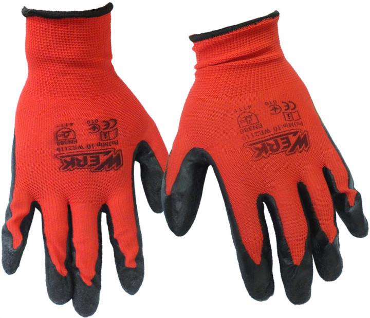 Перчатки рабочие WERK WE2110H
