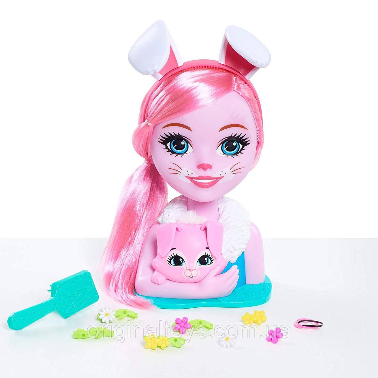 Лялька-манекен Enchantimals Брі Кроля Голова для створення зачісок