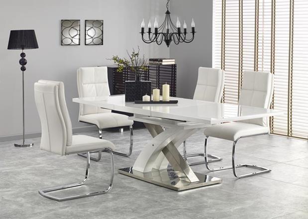 Стол раскладной SANDOR 2 160*90(белый) (Halmar)