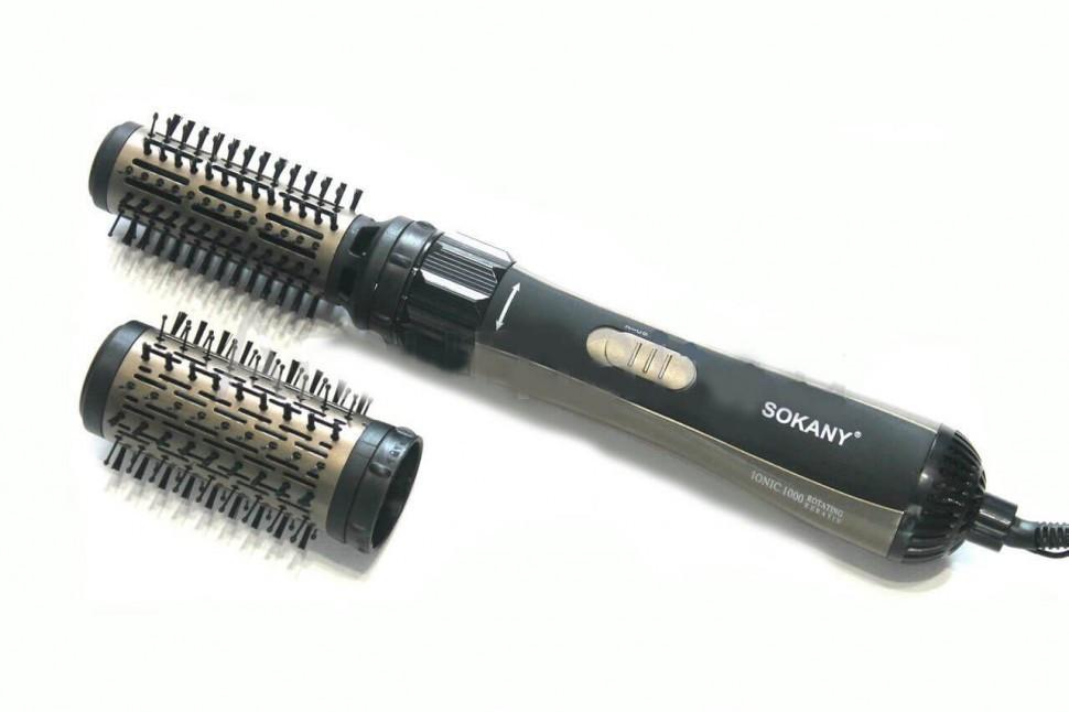 Стайлер для укладки волос Sokany SD-903 Black (2_005691), цена 923 ...