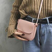 Женская сумка розовая, фото 1