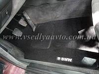 Ворсовые коврики BMW E32 7-серия с 1986-1994 гг. (Черные)