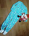 Микрофлисовый человечек слип пижама Снеговички Carter's (США) (Размер 8Т), фото 2
