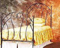 Металлическая кровать 4  размер 90 на 200 см