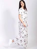 1265bb4c99a Платье в пол с цветочным принтом в Украине. Сравнить цены