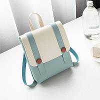 Рюкзак / Сумка маленькая голубого цвета, фото 1