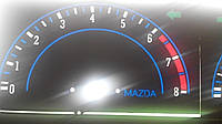 Шкалы приборов Mazda 626 GLX, фото 1