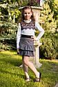 Школьная юбка sh-45 Barbarris Размеры 122- 152 , фото 6