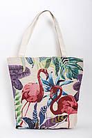 """Женские пляжные сумки """"Фламинго"""", фото 1"""