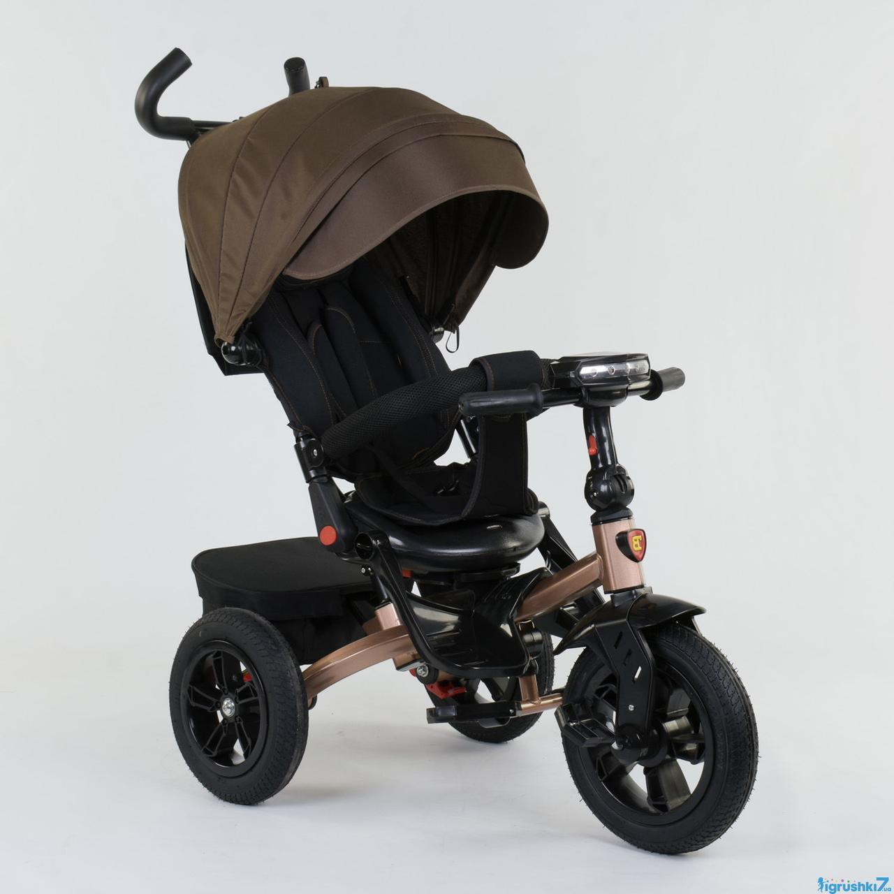 Трехколесный велосипед Best Trike 9500 - 2620 brown