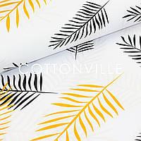 Хлопковая ткань Пальмовые ветки