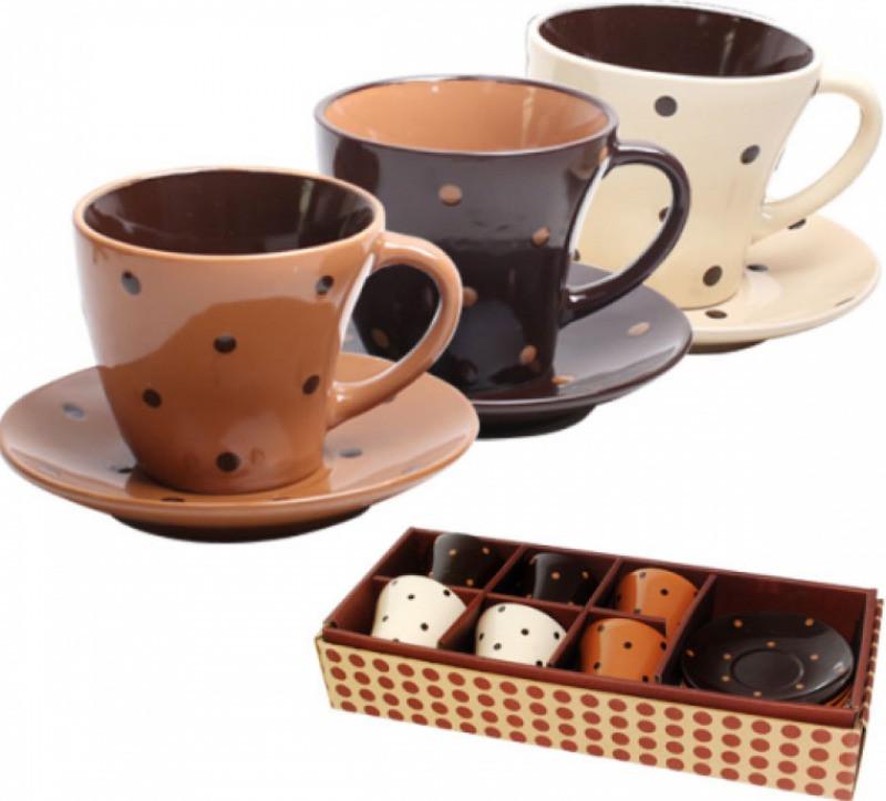 Сервиз кофейный 12пр. S&T Карамель 1533-02 S&T