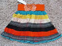 Юбка Плисе цветная два цвета, фото 1