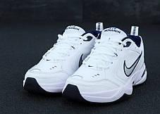 Мужские кроссовки Nike Monarch White. ТОП Реплика ААА класса., фото 3