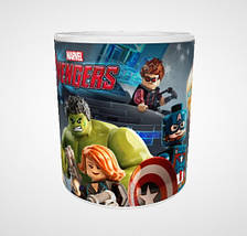 """Кружка """"Лего Мстители"""", 310мл, фото 2"""