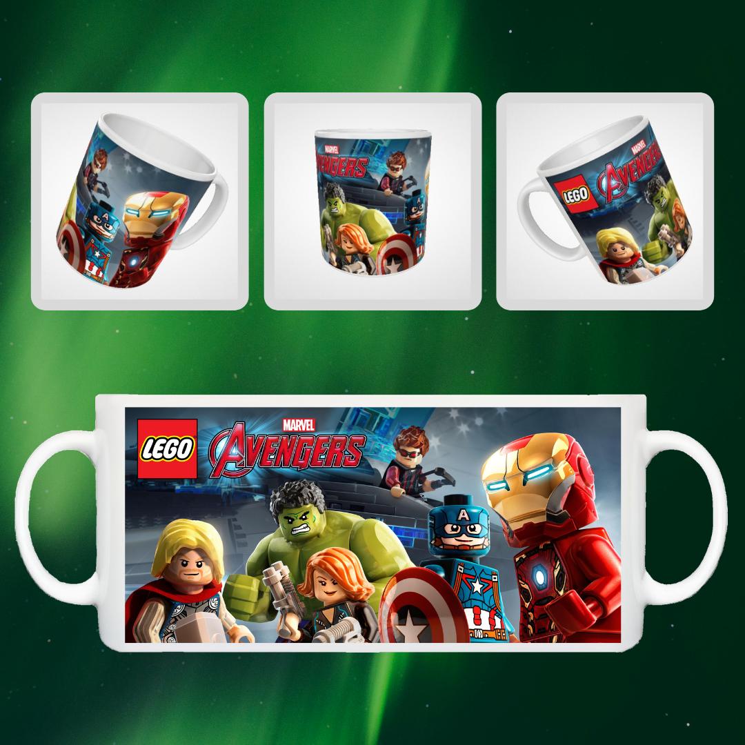 "Кружка ""Лего Мстители"", 310мл"