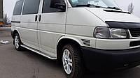 """Боковые пороги площадка """"Premium"""" Volkswagen T-4 короткая и длинная база"""