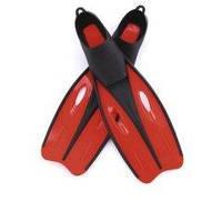 Ласты для плавания Bestway 27024, размер XXL, 42 (EU), под стопу ≈ 26.5 см, красные