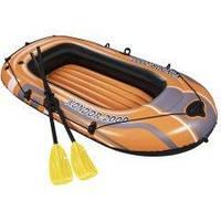 Полутораместная надувная лодка Bestway 61062 Kondor 2000 Set, 197 х 115 см, с веслами и насосом
