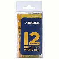 Батарейка X-Digital AA/LR06 Box 12 шт