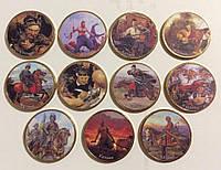 """Набор сувенирных монет """"КАЗАКИ"""" 11 шт."""