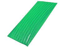 Самоклеющиеся стикеры из пленки с рефлективным эффектом 8 шт Зеленый