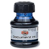 Чернила для авторучек для документов, 50 мл., черные