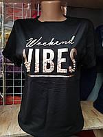 Женская футболка VIBES Турция