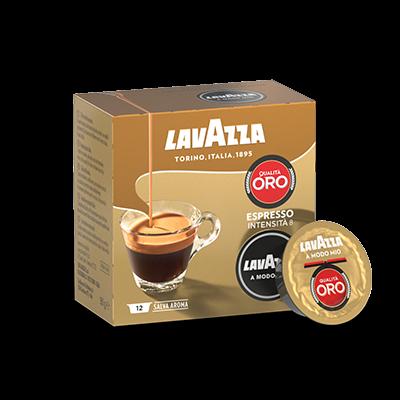 Кава в капсулах Lavazza A Modo Mio Qualita Oro 12 шт. (Лавацца Модо Міо). Італія