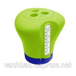 Kokido Дозатор Kokido K619BU (табл. 75 мм) зеленый с термометром