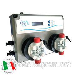 Aquaviva Система дозуючих насосів AquaViva PH/RX 5л/год + Вимірювальний набір, 2шт