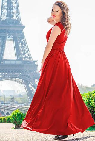 Яскраве жіноче плаття Ларіс, червоне