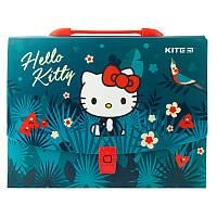 Школьный портфель-коробка А4 kite hk19-209 hello kitty