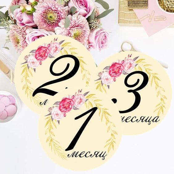Baby Stickers, Наклейки для домашней фотосессии №28, фото 1
