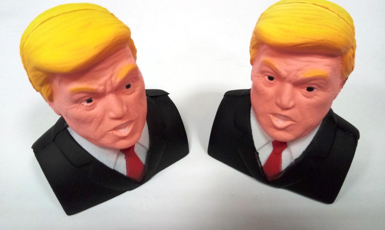 """Игрушка - Антистресс с ароматом  """"Squishy Трамп"""""""
