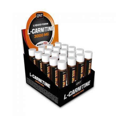 QNT L-Carnitine 3000 мг Ampoules 20x25 мл
