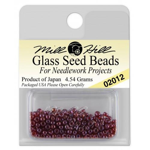 Бисер Glass Seed Beads Royal Plum Mill Hill