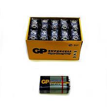 Батарейки крона GP Superсell 6F22, 9 V, упаковка — 10 шт