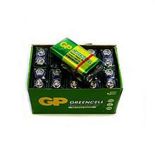 Батарейки крона GP Greenсell 6F22, 9 V, упаковка — 10 шт