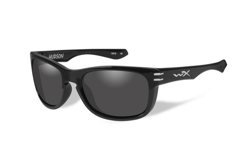 Окуляри Wiley X HUDSON Glasses Smoke Grey/Gloss Black