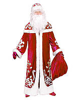 Детский карнавальный костюм Дед Мороз