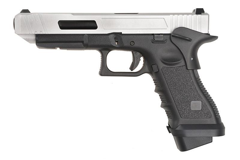 Пістолет Army Glock R35-Z GBB Silver
