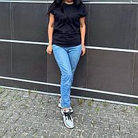 Базовая футболка для кормления, кормящих, беременных,гв черная размер ХЛ
