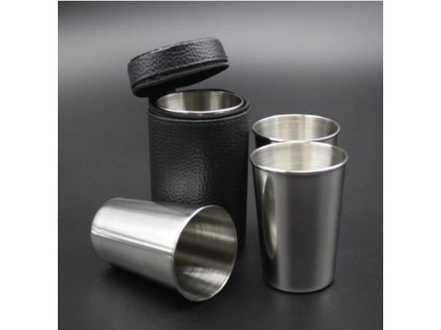 Набор стаканов из нержавеющей стали 830-17А-6