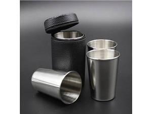 Набір стаканів із нержавіючої сталі 830-17А-6