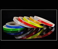 Светоотражающая лента наклейка рулон 8м., фото 1