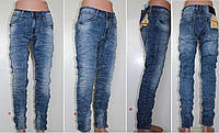 Джинсы Ramsden молодёжные жатка мужские,стрейч,Skinny,W34 L34