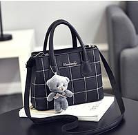 0725 Женская сумка Эко кожа черный