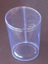 Тубус пластиковый овальный (100*80)*220